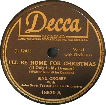 I'll Be Home For Christmas | Original labels… | David Neale